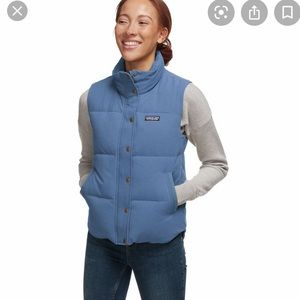 Patagonia Bivy Vest down Wolly blue